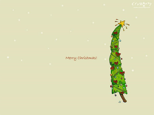 Free Christmas Desktop Wallpapers - Xmas Cross Map