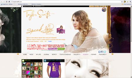 music- Taylor Swift
