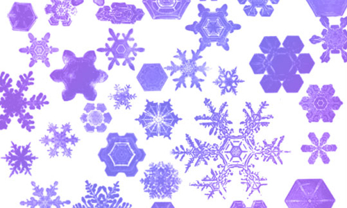 Christmas Brushes for Photoshop - Snowflake Brushes 2