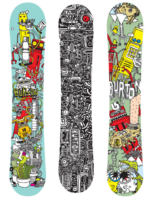 personalized snowboard