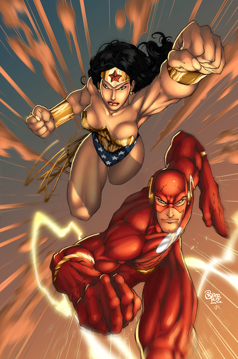 wonder woman flash