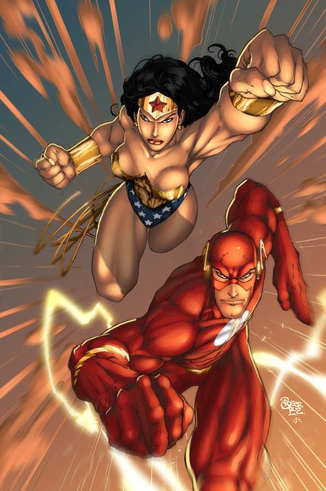 wonder woman flash