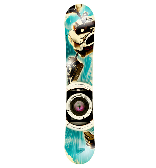 camera raw snowboard