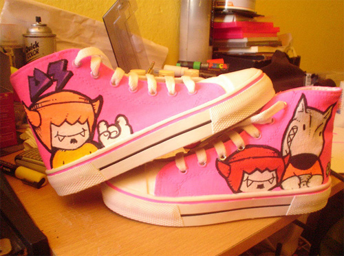 shoes comission