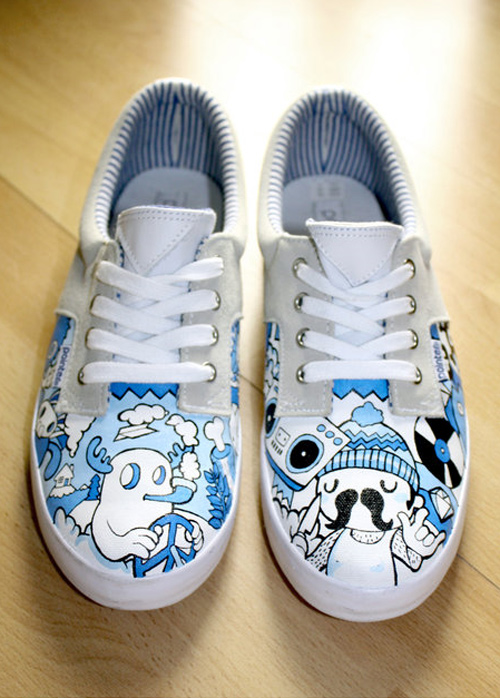 pointer shoes