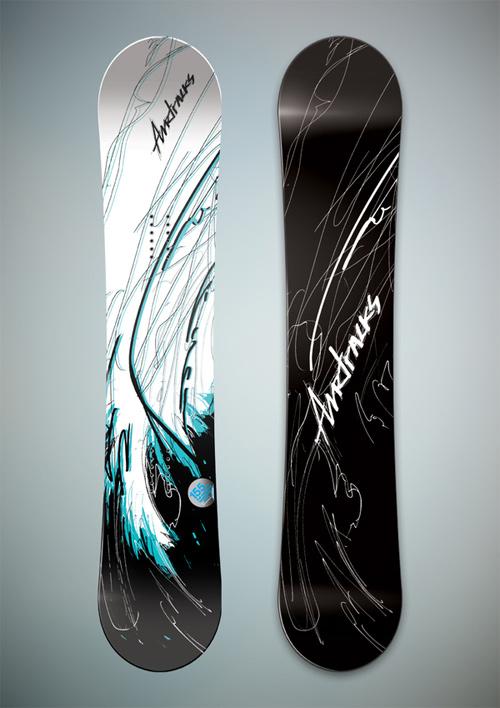 UCreativecom 50 Cool Snowboard Designs UCreativecom
