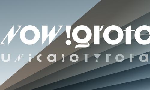 grotesk typeface