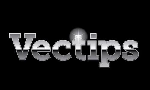 editable metal type treatment