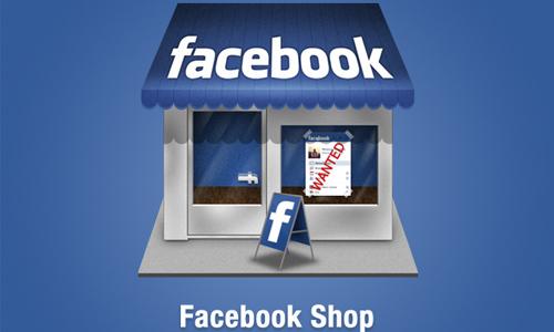 facebook shop icon