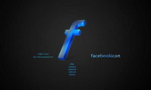 facebook icon wall