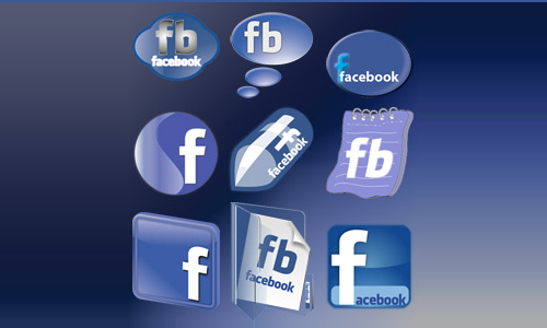 hacebook icon set