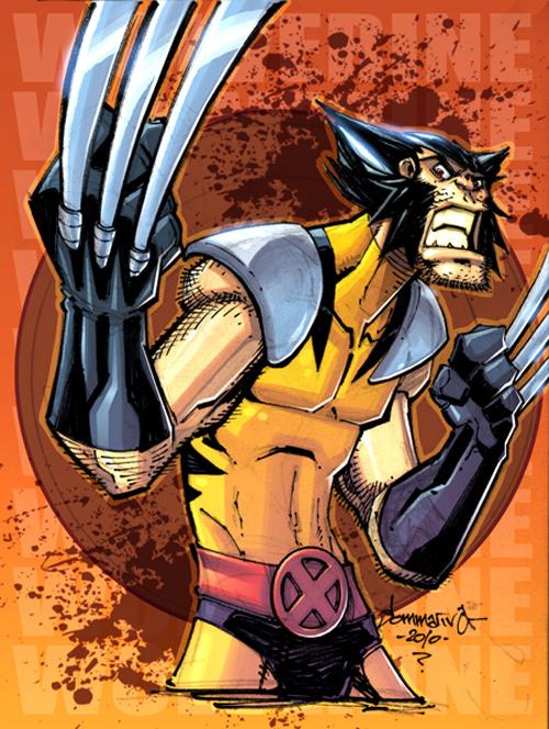 sketch 09 Wolverine