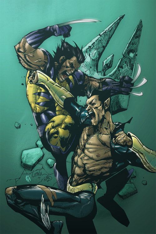 Wolverine vs Namor