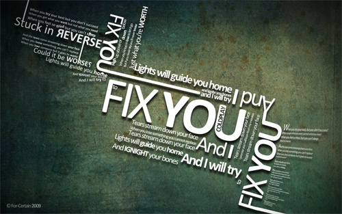 fix you