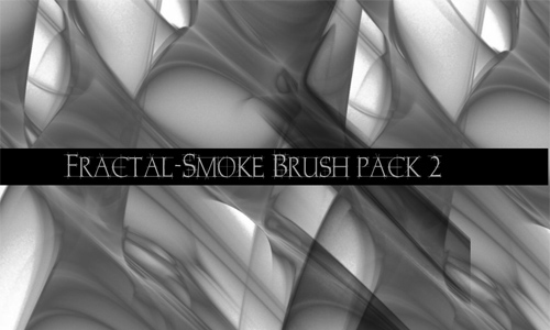 fractal smoke brush pack 2