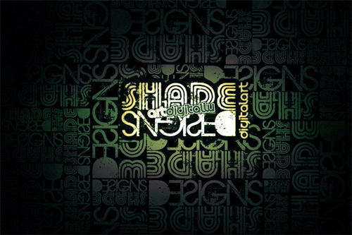 Shade Designs Wallpaper