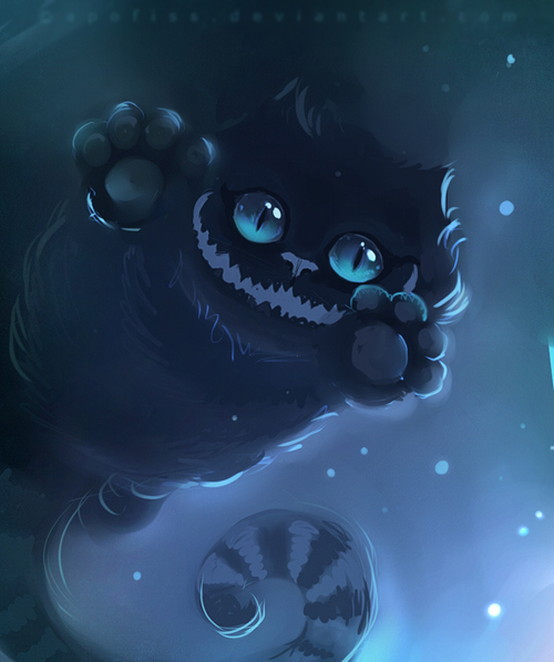 digital-painting-17-the-cheshire-cat