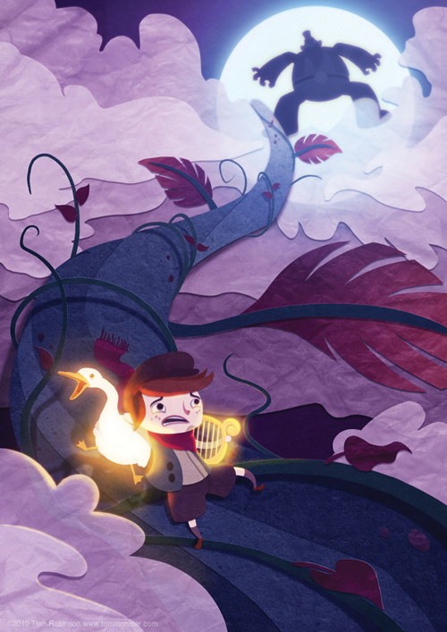 digital-painting-31-jack-and-the-beanstalk