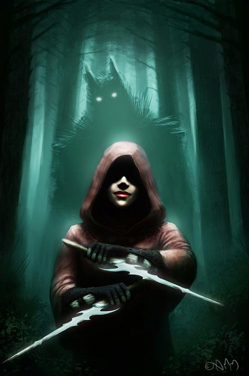 digital-painting-07-red-riding-hood-assassin