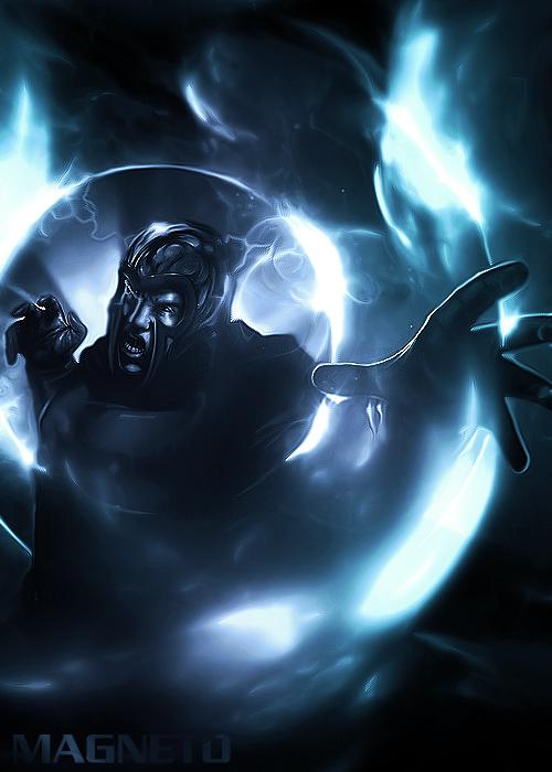 blue magneto
