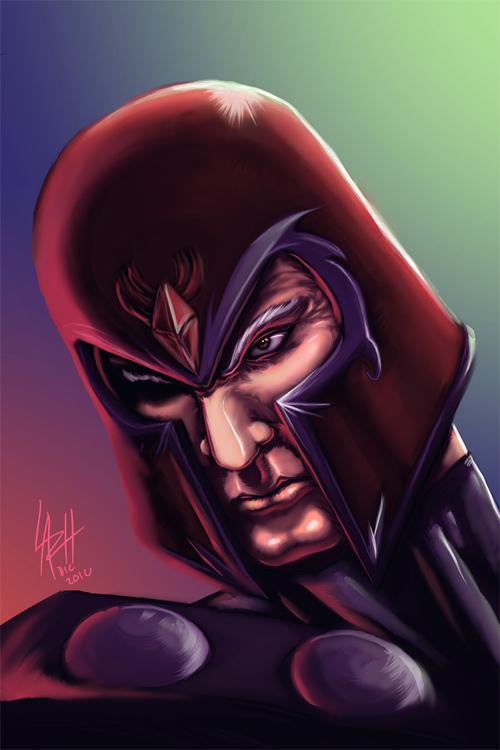 magneto's head