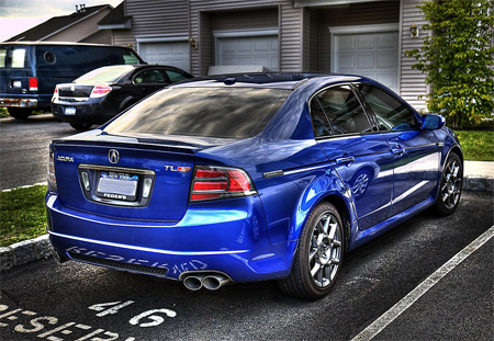 Acura TL Type-S HDR