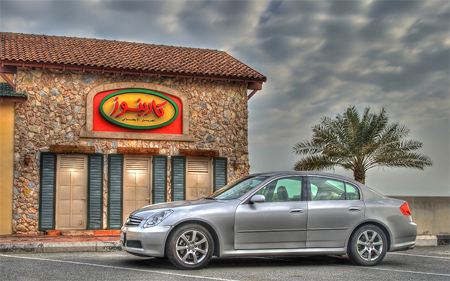 G35 at Carino's (HDR)