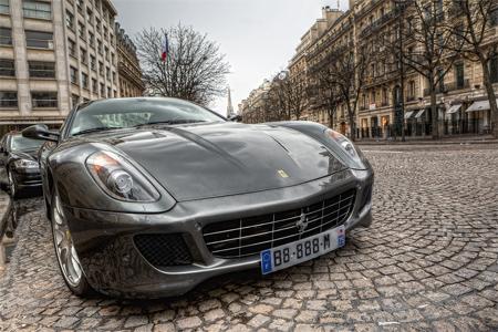 HDR Ferrari 599 GTB Fiorano