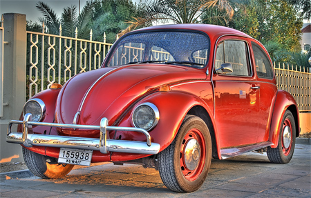Red Beetle (HDR)