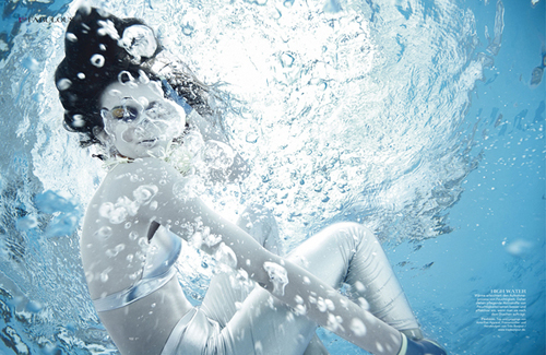 Underwater Photography Editorial for First Mag
