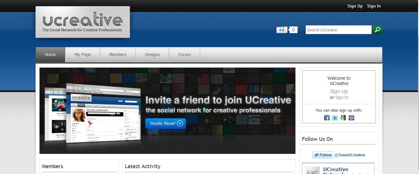 ucreative--social-network
