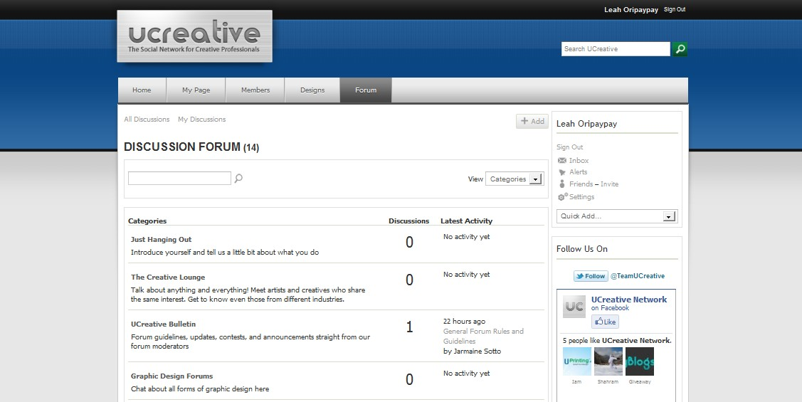 ucreative-forums