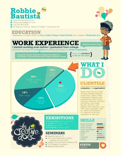 Great Resume Designs that Catch Attention and Got People Hired ...