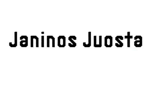 Janinos Juosta font