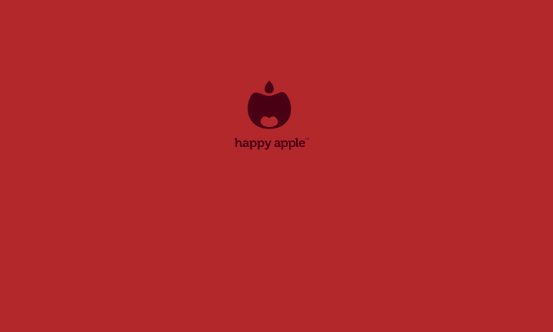 happy-apple-logo
