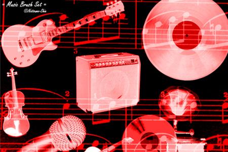 music-photoshop-brushes-13-Music-Brush-Set