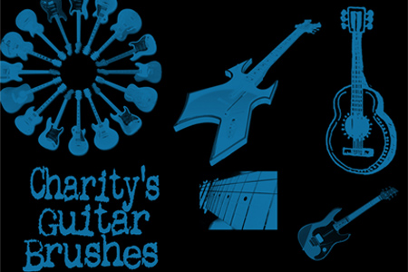 music-photoshop-brushes-14-Charity-s-Guitar-Brushes