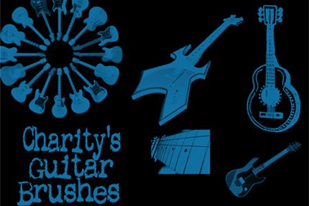music-photoshop-brushes-14-Charity-s-Guitar-Brushes