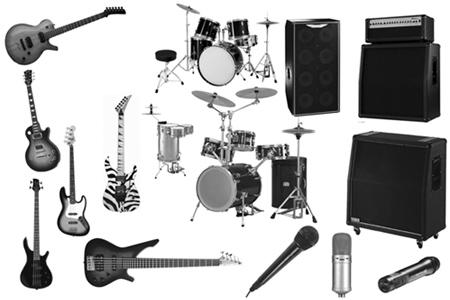 music-photoshop-brushes-16-Instruments-Brushes