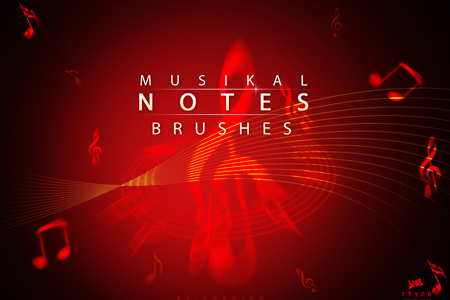Musik-Note-Brushes