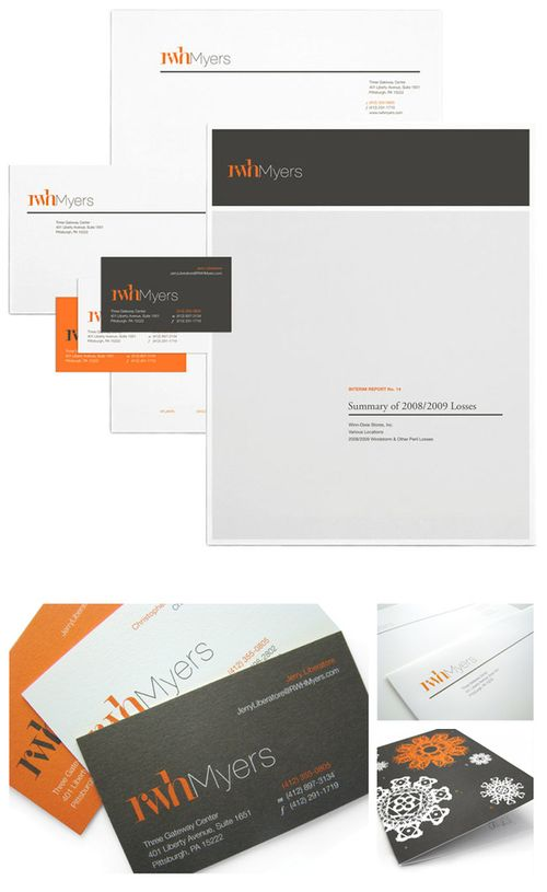 RWH Myers Stationery