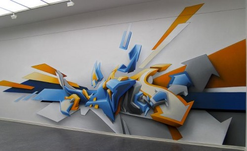 45 beautiful wall paintings from graffiti to realism artworks that wow - Design Of Wall Painting