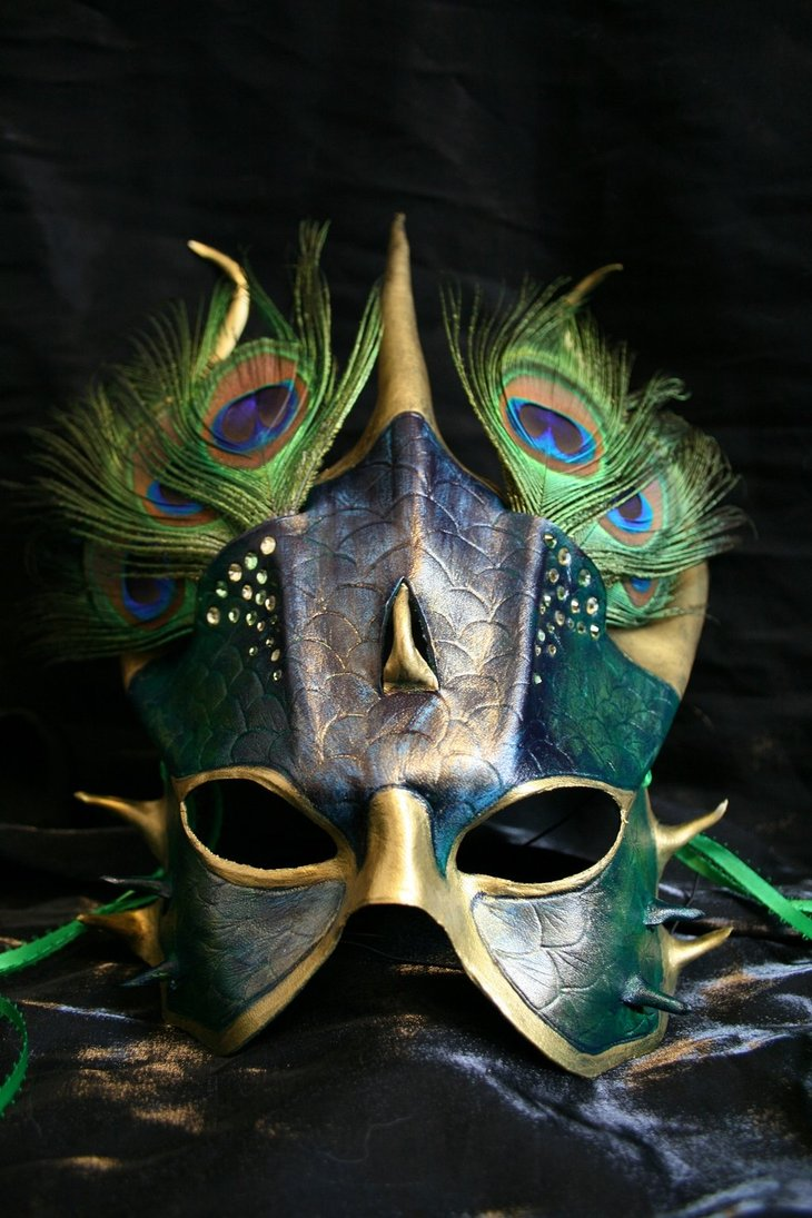 56 Handcrafted Masks Perfect for Halloween Costumes – UCreative.com