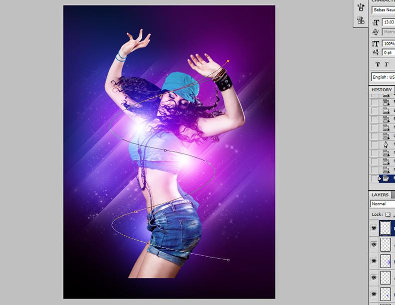 How-to-Make-a-Smokin'-Nightclub-Flyer-15