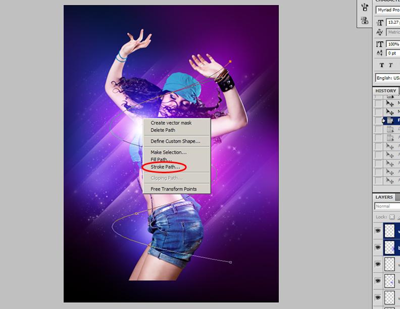 How-to-Make-a-Smokin'-Nightclub-Flyer-17