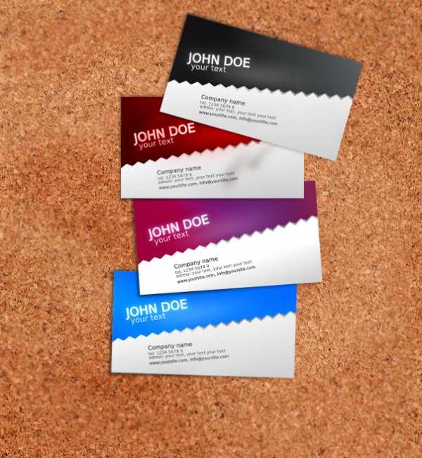 35 Quality Business Card Design Templates for Free – Name Card Format