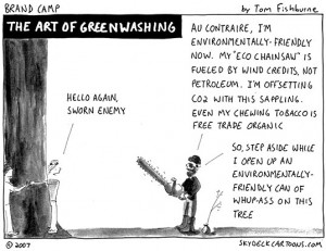 Corporate Social Responsibility - Greenwashing - Band Camp by Tom Fishburn