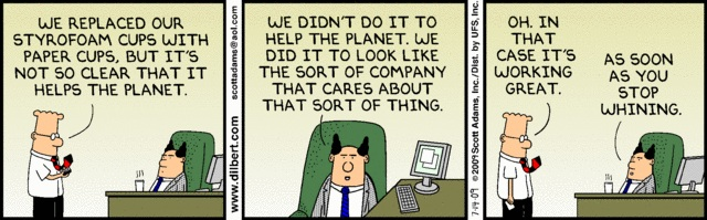 Dilbert on CSR