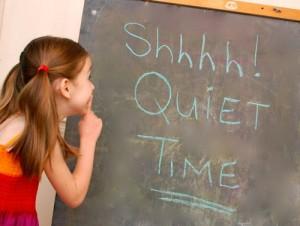 Quiet Time - c/o frugalfamilyfunblog.com