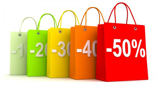 sales with increasing discounts